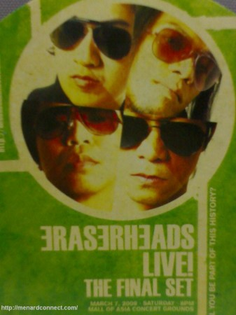 Eraserheads Concert 2009