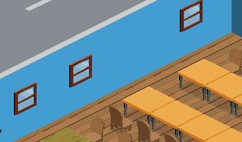 Menardconnect Cafe: No Door