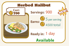 Herbed Halibut