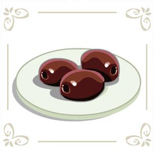 Calamata Olives in Cafe World