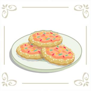 Sweet Sugar Cookie Cafe World