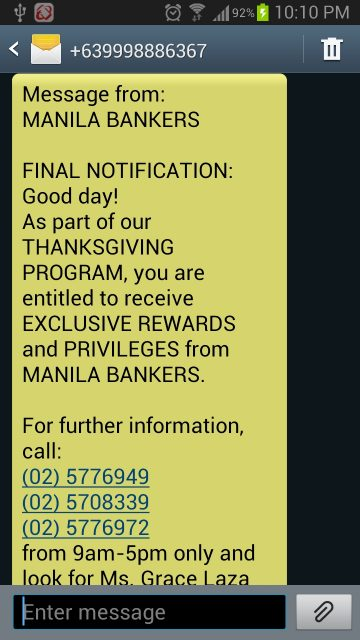 manila-bankers-sms-spam